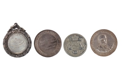 Lot 1310 - A LOT OF TEN SILVER AND OTHER SCHOLASTIC DUX AND OTHER PRIZE MEDALS