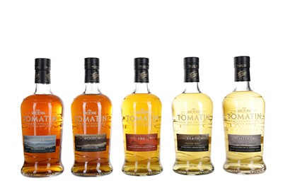 Lot 231 - TOMATIN FIVE VIRTUES SERIES