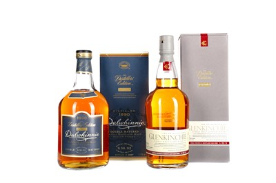 Lot 238 - GLENKINCHIE 1995 DISTILLERS EDITION AND DALWHINNIE 1990 DISTILLERS EDITION