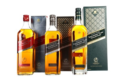 Lot 252 - JOHNNIE WALKER THE SPICE ROAD, THE ADVENTURER AND THE GOLD ROUTE