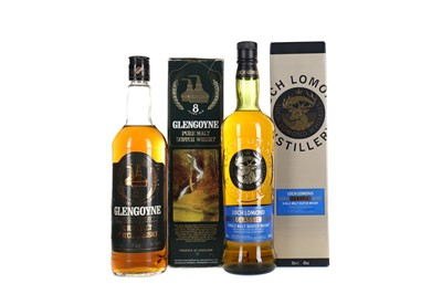 Lot 261 - GLENGOYNE 8 YEARS OLD AND LOCH LOMOND CLASSIC