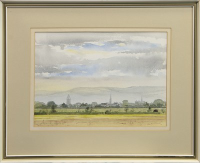 Lot 441 - PEBBLES FROM THE EAST, A WATERCOLOUR BY FRANK DODMAN