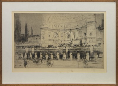Lot 89 - THE (SO-CALLED) STADIUM OF DOMITIAN, AN ETCHING BY WILLIAM WALCOT