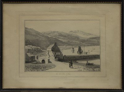 Lot 455 - A TRIO OF AQUATINTS BY WILLIAM DANIELL