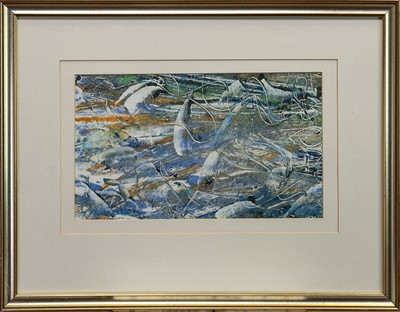 Lot 448 - SALMON LEAP, AN OIL BY M P COCHRANE