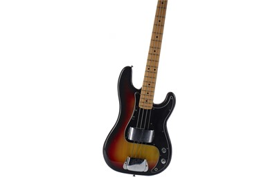 Lot 1719 - A FENDER PRECISION BASS GUITAR