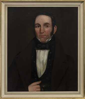 Lot 459 - PORTRAIT OF JOHN HUNTER, A 19TH CENTURY OIL