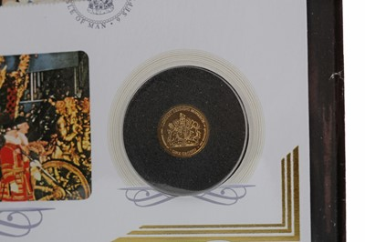 Lot 1 - QUEEN ELIZABETH II - LONGEST REIGNING MONARCH GOLD COIN COVER