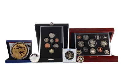 Lot 5 - A COLLECTION OF BRITISH AND OTHER COINS