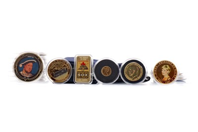 Lot 6 - A COLLECTION OF COMMEMORATIVE AND OTHER COINS