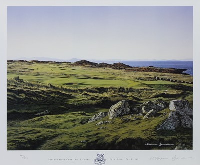 Lot 481 - GULLANE NO. 1 COURSE 12TH HOLE, A PRINT BY WILLIAM GRANDISON