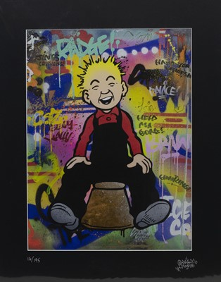 Lot 490 - FIVE OOR WULLIE PRINTS BY SLEEK