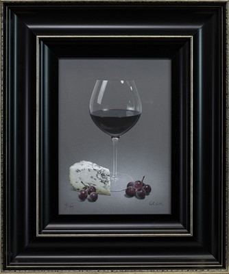 Lot 488 - TRIO OF DRINKS, PRINTS BY COLIN WILSON