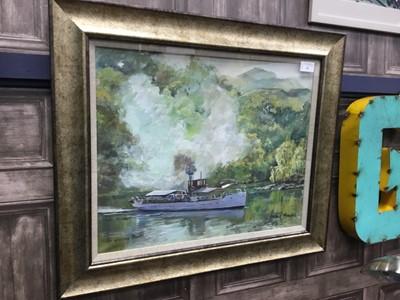 Lot 55 - SIR WALTER SCOTT, AN OIL BY ROBIN MILLER