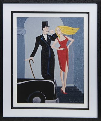 Lot 590 - NEVER TOO RICH OR TOO THIN, A LIMITED EDITION PRINT BY ELENA KOURENKOVA