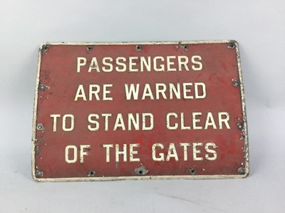 Lot 68 - A LOT OF THREE VINTAGE SIGNS
