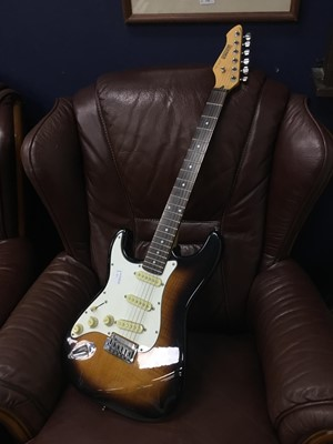 Lot 84 - A HOHNER PROFESSIONAL ST 59 ELECTRIC GUITAR AND A GORILLA AMPLIFIER