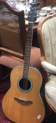 Lot 86 - AN APPLAUSE SUMMIT SERIES ACOUSTIC GUITAR
