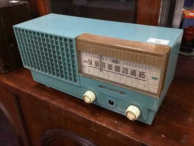 Lot 100 - A SHARP HAYAKAWA ELECTRIC CO LTD VINTAGE RADIO