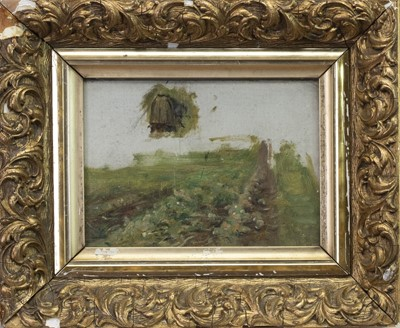 Lot 112 - CABBAGE PATCH, A STUDY ATTRIBUTED TO ROBERT MCGREGOR