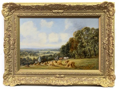 Lot 114 - HARVESTING, AN OIL BY SIDNEY YATES JOHNSON