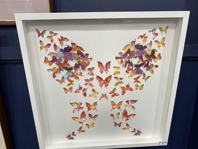 Lot 90 - BUTTERFLIES, A DIANE YOUNG PICTURE