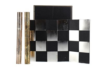 Lot 432 - A SILVER AND SILVER GILT CHESS SET BY CYRIL ENDFIELD LONDON