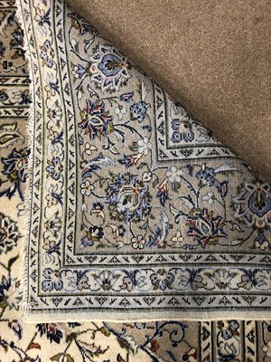 Lot 1317 - A FINE HAND KNOTTED PERSIAN (IRANIAN) WOOL CARPET