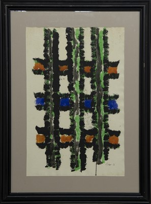 Lot 609 - AN UNTITLED INK BY WILLIAM GEAR