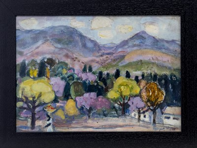 Lot 45 - THE FRUIT CARRIER, UMTALI, AN OIL BY MARGARET ROSS HISLOP