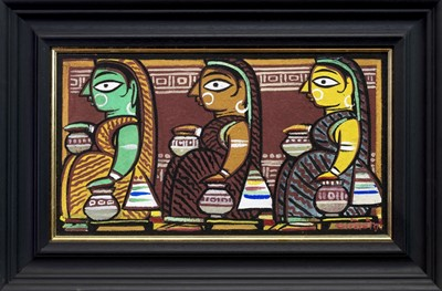 Lot 132 - AN UNTITLED WORK BY JAMINI ROY