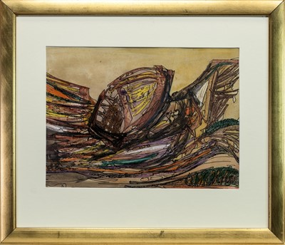 Lot 46 - DROWNING, A MIXED MEDIA BY GEORGE SINCLAIR