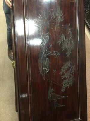 Lot 757 - A CHINESE CAMPHORWOOD BLANKET CHEST