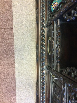 Lot 765 - A CHINESE STAGE CABINET