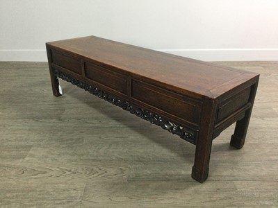 Lot 766 - A CHINESE LOW SIDE TABLE