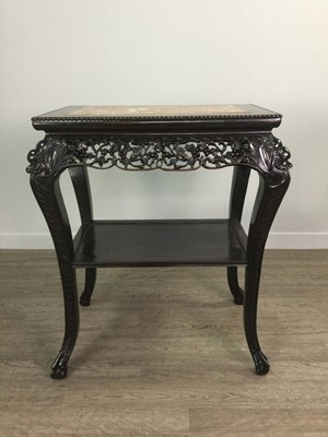 Lot 769 - EARLY 20TH CENTURY CHINESE CARVED HARDWOOD...