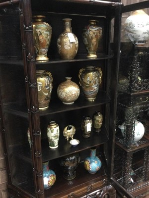Lot 772 - A CHINESE DISPLAY CABINET