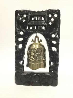 Lot 801 - A CHINESE TABLE BELL