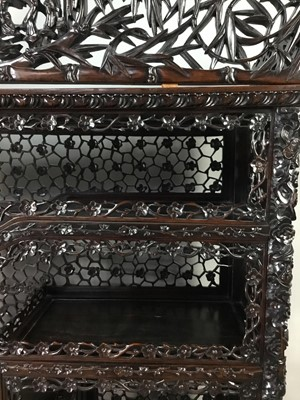 Lot 784 - A CHINESE STAGE CABINET
