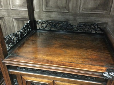 Lot 788 - A CHINESE STAGE CABINET