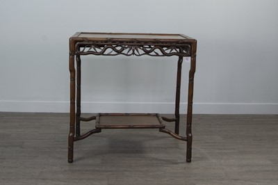 Lot 789 - A 20TH CENTURY CHINESE OCCASIONAL TABLE