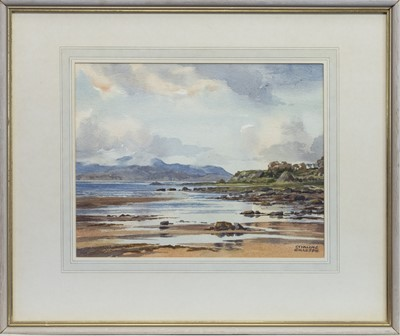 Lot 634 - TORWOOD, ROTHESAY, A WATERCOLOUR BY STIRLING GILLESPIE