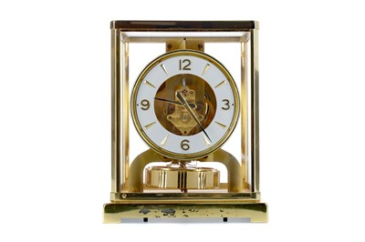 Lot 1668 - A JAEGAR LE COULTRE ATMOS CLOCK, WITH WALL BRACKET