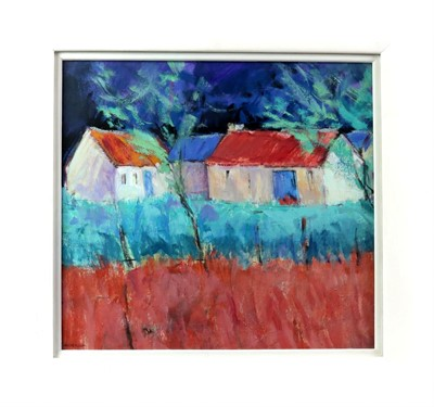 Lot 645 - FARM BUILDINGS, APPIN, AN OIL BY ALAN ANDERSON