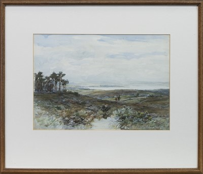 Lot 140 - THE CLYDE FROM THE MOOR ABOVE HELENSBURGH, BY ALEXANDER KELLOCK BROWN