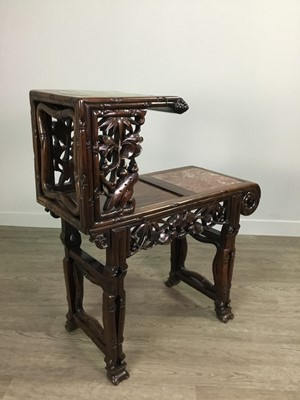 Lot 795 - A CHINESE PLANT TABLE