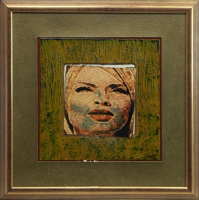 Lot 57 - DAWN, A CERAMIC TILE BY ED SMITH