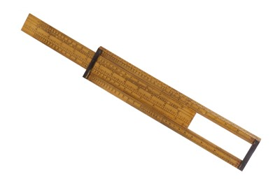 "Lot 1725 - THE ""VADE MECUM"" SLIDE RULE"