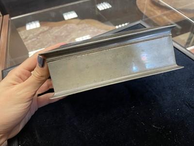Lot 1341 - A TUDRIC PEWTER TRINKET BOX