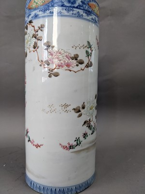 Lot 331 - A LATE 19TH CENTURY CHINESE FAMILLE ROSE VASE